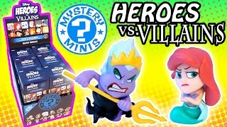 Disney Heroes vs Villains - Surprise Funko Mystery Minis Full Box Case Unboxing!
