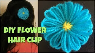 DIY Flower Hair Clip - VERY EASY!
