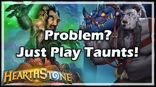 Problem? Just Play Taunts! - Boomsday / Constructed / Hearthstone