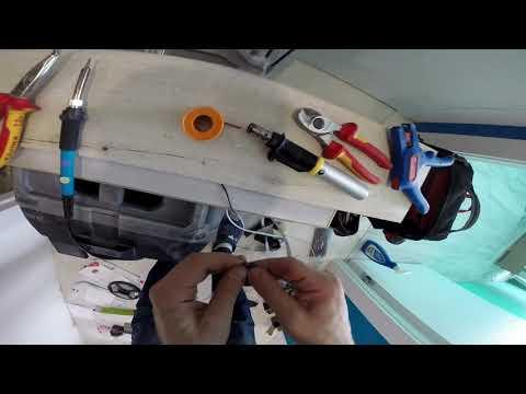 Монтаж светодиодной ленты в Ванной .