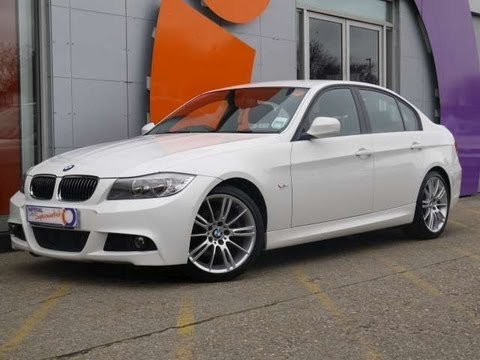 2010 bmw 325d m sport 197 saloon white for sale in hampshire youtube. Black Bedroom Furniture Sets. Home Design Ideas