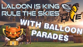 Onehive CWL Round 3: Rule the Skies with Laloon, the Best TH12 Strategy