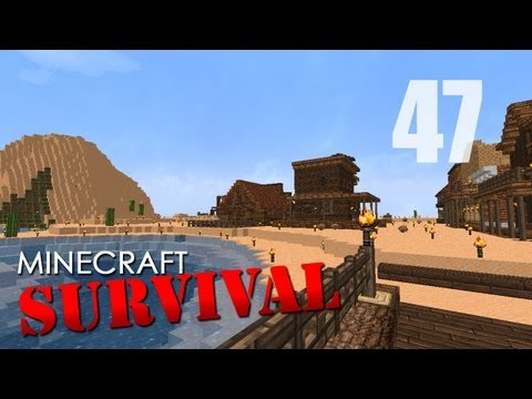 Survival Minecraft - Ep47 - Blacksmith and Stables
