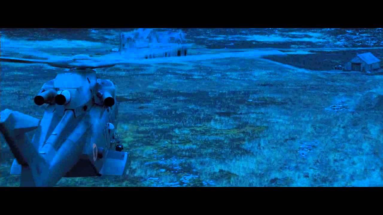 James Bond Skyfall Helicopter Arrival (rock music scene)