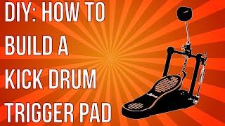DIY: How To Build An Analog Kick Drum Trigger Pad Using Junk