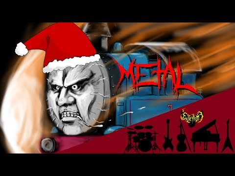 Thomas The Tank Engine Title Theme Song 【Intense Symphonic Metal Cover】
