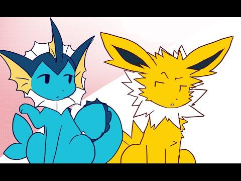 jolteon throws shade pokemon comic feat starbot dubs