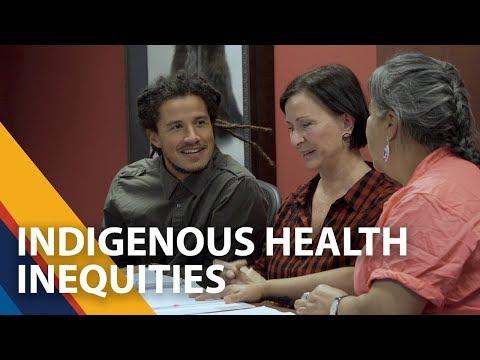 Indigenous health inequities - UVic's Charlotte Loppie