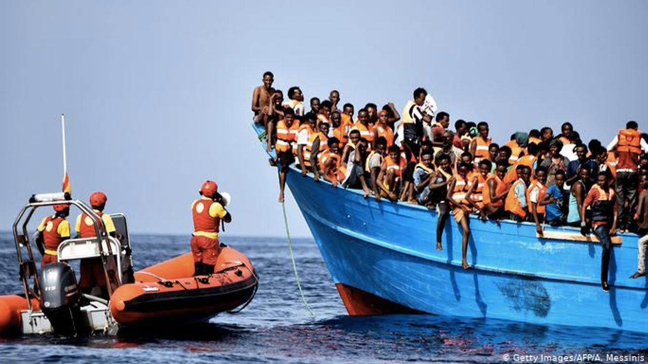 AFRICAN MIGRANTS DROWN AFTER BOAT SINKS OFF TUNISIAN COAST