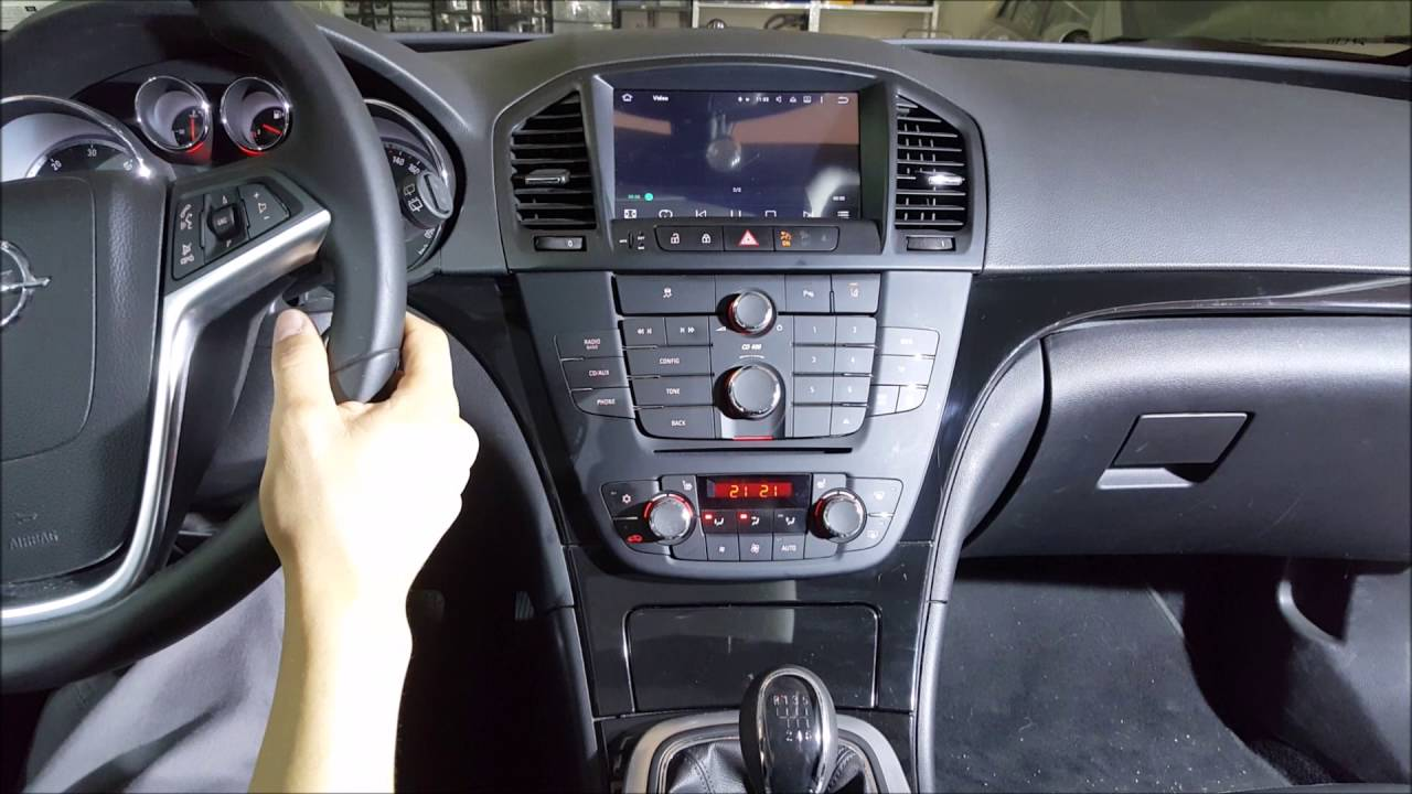 Radio Navegador Dvd Opel Insignia Android Youtube
