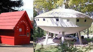 Top 10 Real Houses Inspired By Cartoons | 10 Cartoon Houses You Won