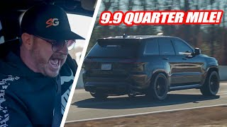 RANDY DRIVES SRTNINJAUSA'S 1,000HP TRACKHAWK! *RAN A 9.9!!*