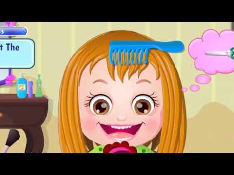 Игры для девочек уход за волосами игры