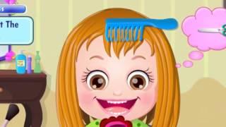 Малышка: уход за волосами - игра для девочек