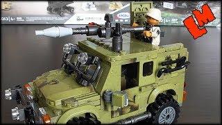 Военный Супер Джип из Лего (аналог)