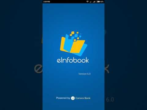 canara bank e infobook