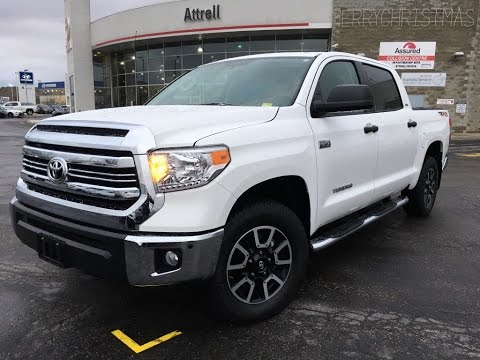 2017 Toyota Tundra Crewmax Sr5 Trd Off Road Brampton On Attrell