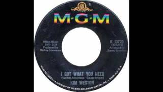 Kim Weston - I Got What You Need - Raresoulie