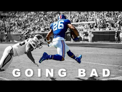 "Saquon Barkley | "" Going Bad "" | Ft. Drake & Meek Mill | Giants Highlights | HD |"