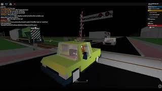 ROBLOX RRR Railroad Crossing Incident 2