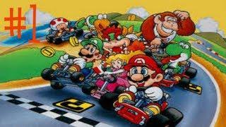 Super Mario Kart - GameArea - Super Mario Kart #1 (WHO WILL WIN?!) - User video