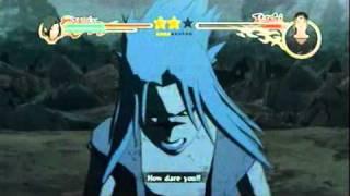 Naruto Shippuden Ultimate Ninja Storm 2 - Sasuke vs Itachi (Full Fight) + cutscene after