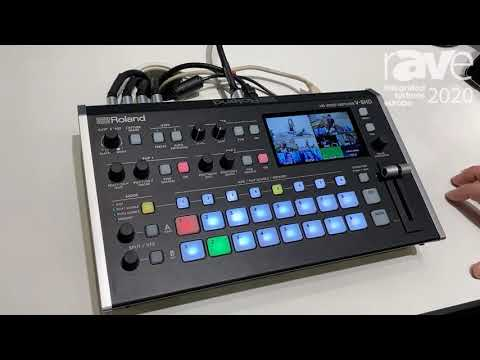 ISE 2020: Roland Demos V-8HD Eight-Channel HD Video Switcher