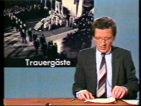 ARD Tagesschau Jo Brauner 14.11.1982 VCR