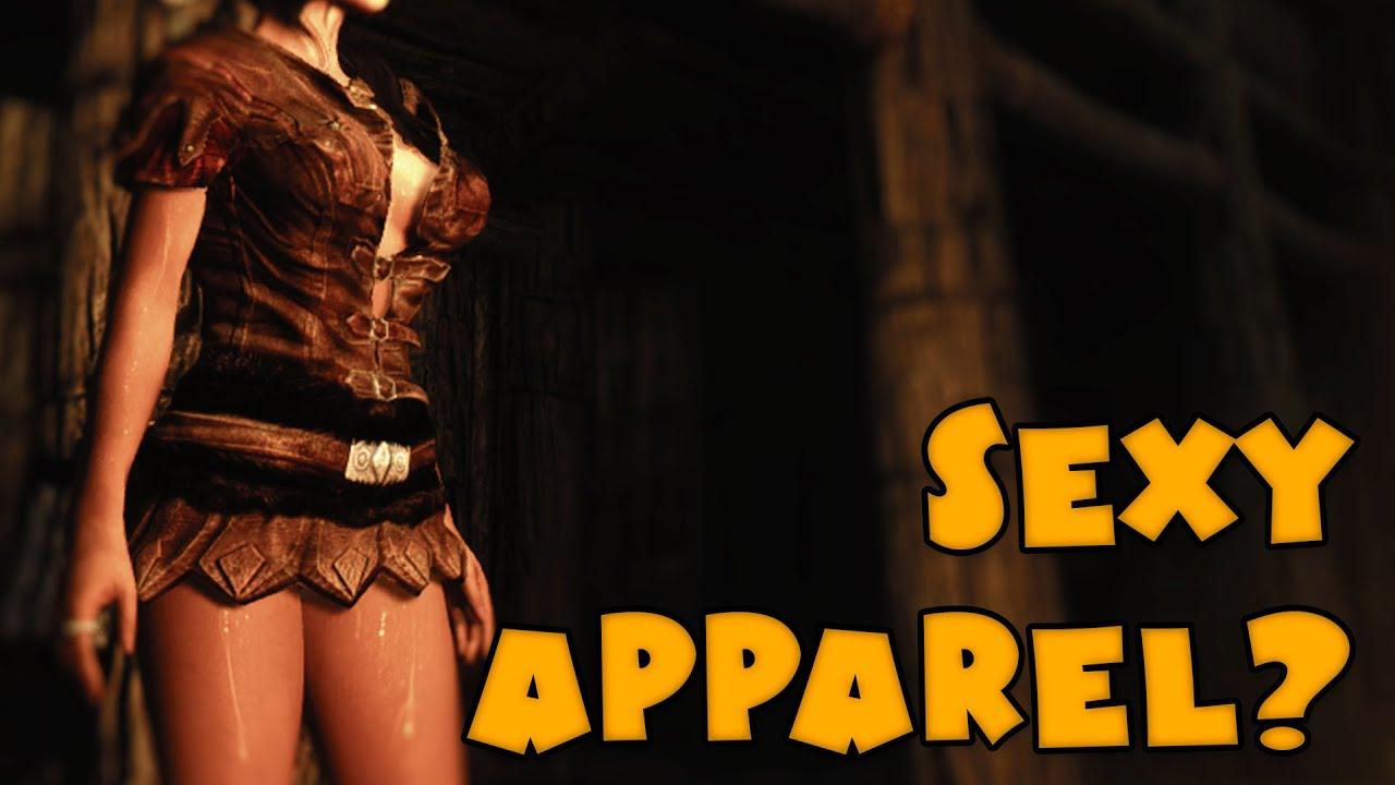 SKYRIM Messabout - Sexy Apparel?