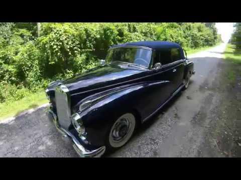 Supercharged 1960 Mercedes-Benz 300d Cabriolet D