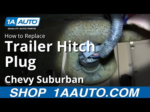 [DIAGRAM_38IU]  How to Replace Trailer Hitch Plug 00-14 Chevy Suburban 1500 - YouTube | 7 Way Trailer Plug Wiring Diagram For 2002 Suburban |  | YouTube