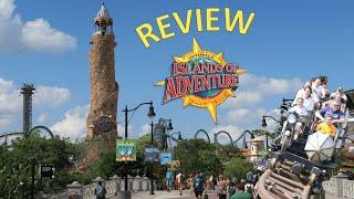 Islands of Adventure Review, Universal Studios Orlando Theme Park, Best Park in Florida!