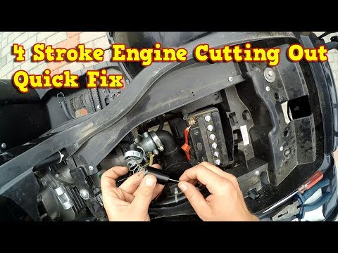 4 Stroke Engine High Revs Cutting Out - Quick Fix
