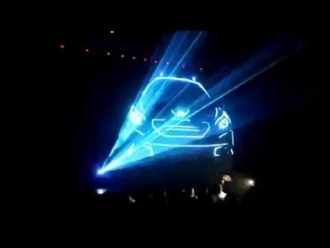 VLT  - лазерный проектор для рекламы