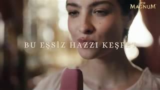 Magnum reklamındaki kadın kim