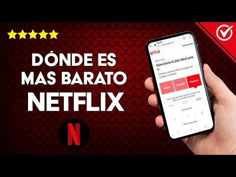 ¿Dónde es más Barato Netflix y Cómo Contratarlo?