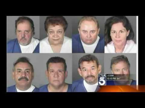 Los Angeles District Attorney Steve Cooley and Former LA DA Robert Philibosian Corruption - KTLA