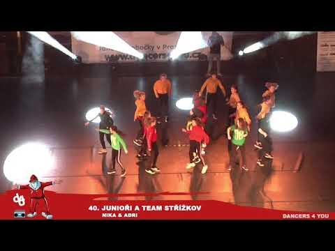 40. JUNIOŘI STŘÍŽKOV A TEAM VÁNOČNÍ SHOW DANCERS 4 YOU 2018