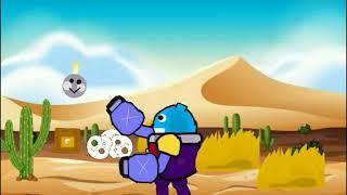 Анимация Рисуем мультфильмы 2 Brawl stars