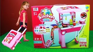 New Kitchen Playset Unboxing And Review