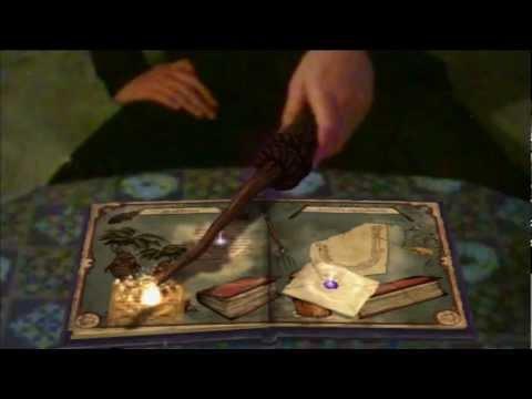 ГАРРИ ПОТТЕР В ЖИЗНИ - Wonderbook : Книга заклинаний # 1