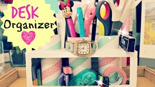 Diy Crafts: How To Make A Tumblry Desk Organizer/p