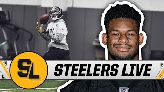 JuJu Limited at Practice, Game-Planning for High-Powered Brees | Steelers Live