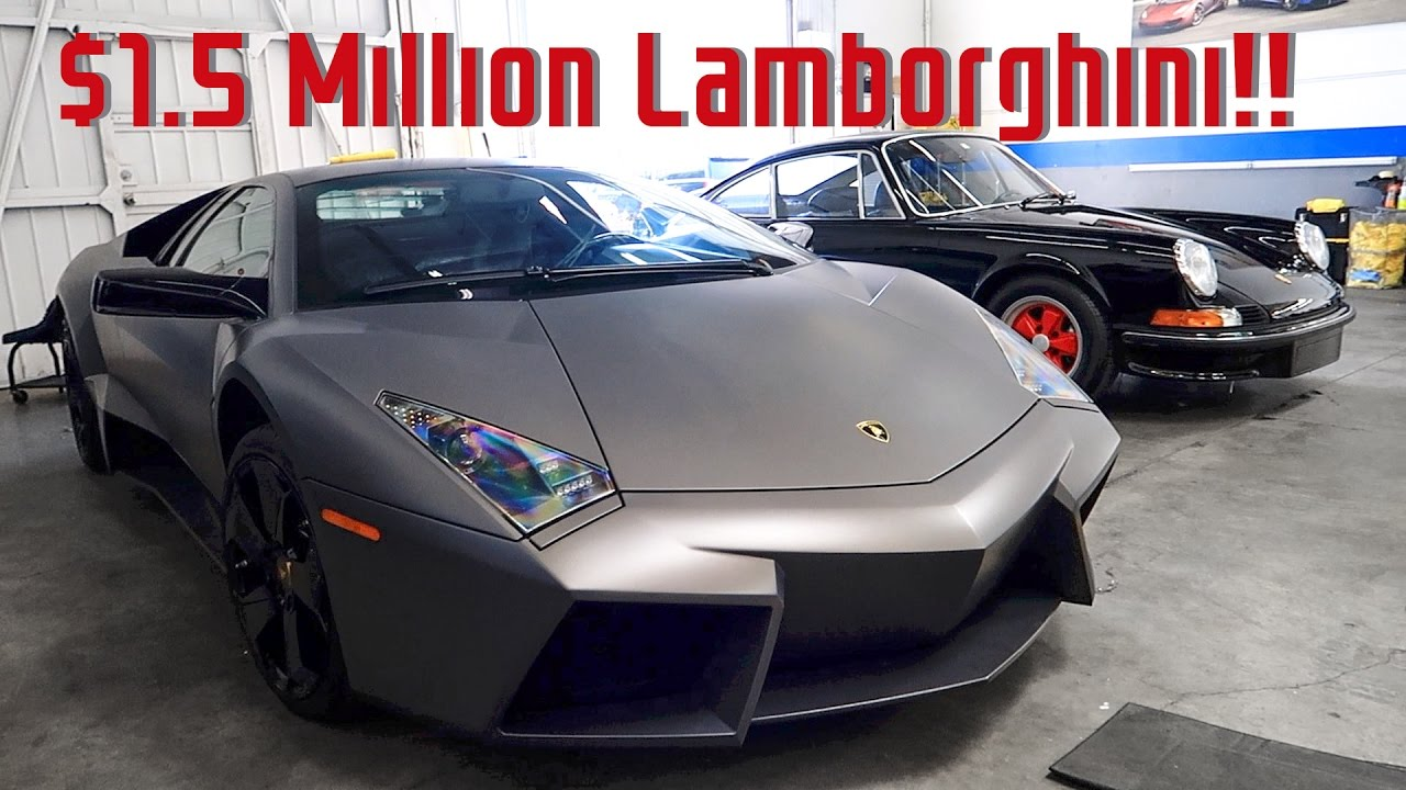The Coolest Dashboard in the World!! $1.5 Million Lamborghini Reventon  Overview