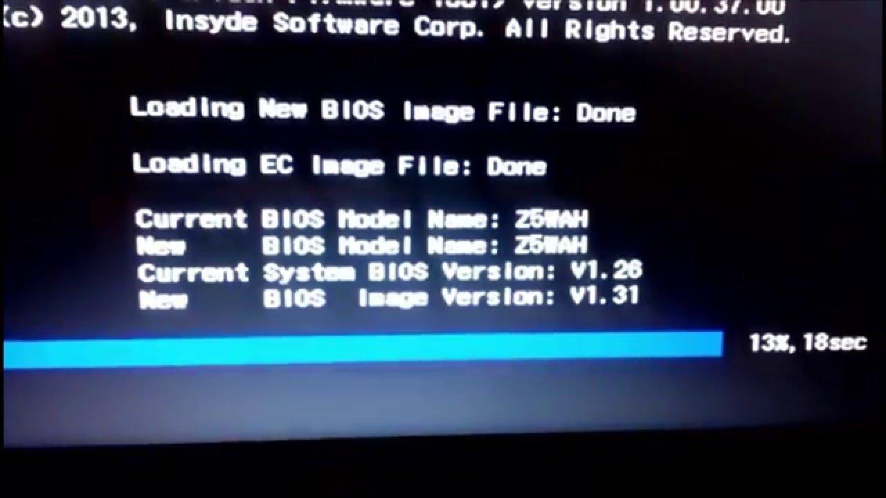 Update BIOS Acer Aspire E5-571 Laptop, BIOS-ის განახლება Acer Aspire E5-571  ნოუთბუქზე
