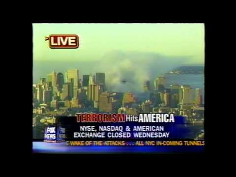 6:45 am EST September 12, 2001 Fox News broadcast