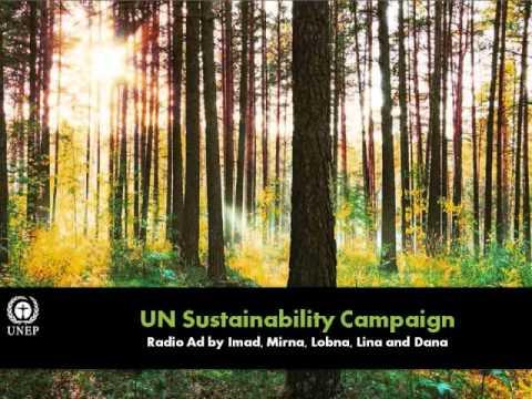 Sustainability campaign - Radio Ad