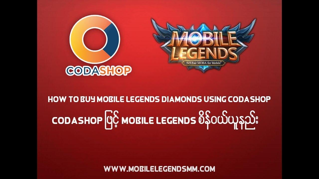 How to buy mobile legends diamonds using codashop youtube stopboris Choice Image