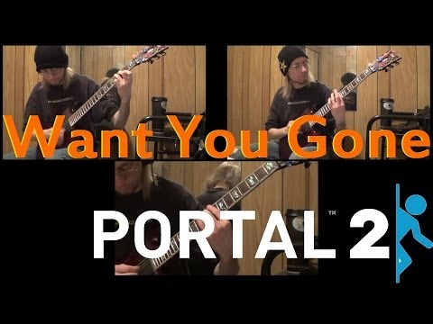 Want You Gone Instrumental Metalized Cover - Portal 2 - Jonathan Coulton