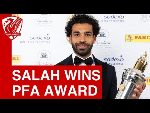 Mohamed Salah wins PFA Player of the Year award